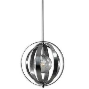 Trofarello Silver - One Light Pendant