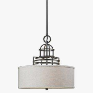 Cupola - Four Light Drum Pendant