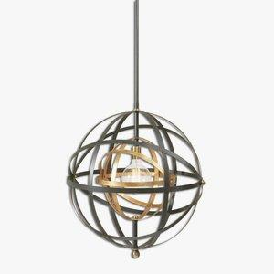 Rondure - One Light Sphere Pendant