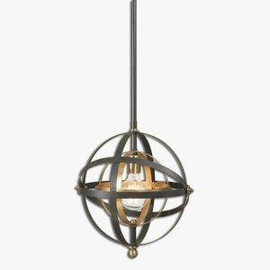 Rondure - One Light Sphere Mini Pendant