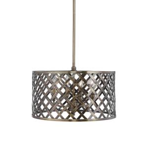 Grata - 4 Light Latticework Pendant