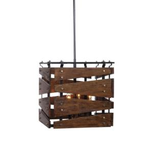 Augie Pendant 4 Light  - 18.25 inches wide by 18.25 inches deep