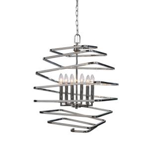 Coillir Pendant 6 Light  - 18.38 inches wide by 18.38 inches deep