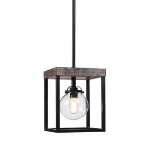 Pearsall - One Light Industrial Mini Pendant
