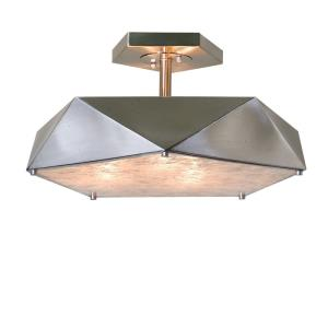 Tesoro - 3 Light Semi-Flush Mount