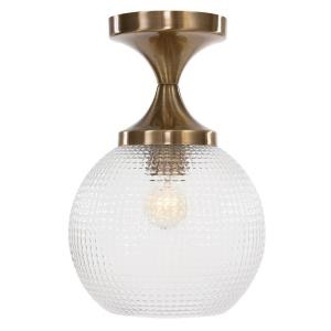 Bolla - 1 Light Semi-Flush Mount - 9.63 inches wide by 9.63 inches deep