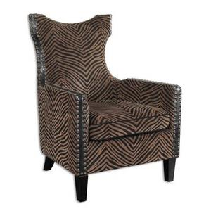 "Kimoni - 42.75"" Wing Arm Chair"