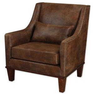 Clay - 37 inch Leather Armchair