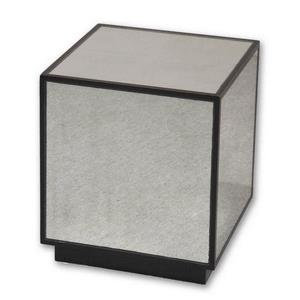 Matty - 18 inch Mirrored Cube Table