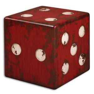 "Dice - 18.75"" Accent Table"