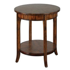 Carmel - 26.5 inch Round Lamp Table