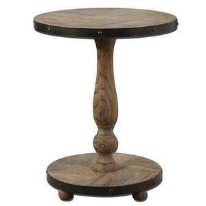 "Kumberlin - 26"" Round Accent Table"