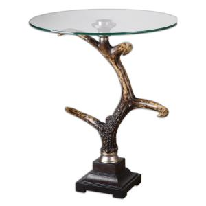"Stag Horn - 26.375"" Accent Table"