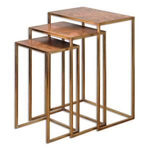 "Copres - 27"" Nesting Table (Set of 3)"