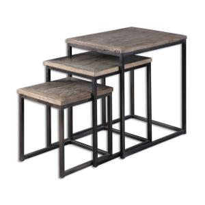 "Bomani - 24"" Nesting Table (Set of 3)"