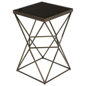 Uberto - 24 inch Caged Frame Accent Table