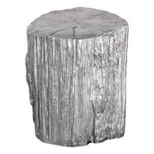 "Cambium - 17.5"" Tree Stump Stool"