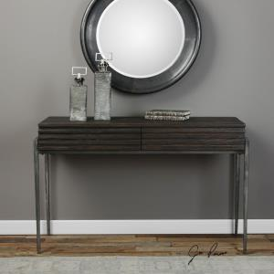 "Morrigan - 49.2"" Industrial Console Table"