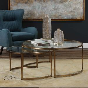 "Rhea - 42"" Coffee Table (Set of 2)"