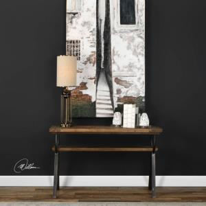 "Domini - 52"" Industrial Console Table"