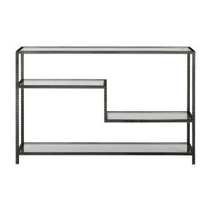 "Leo - 34"" Industrial Console Table"