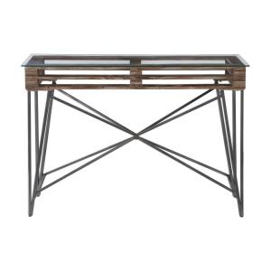 "Ryne - 51.63"" Industrial Console Table"