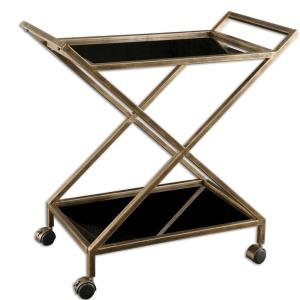 Zafina - 32 inch Bar Cart