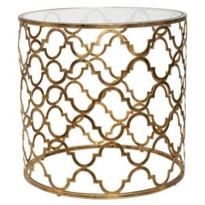 Quatrefoil - 25 inch End Table