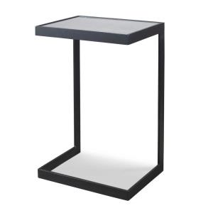 Windell - 25.5 inch Cantilever Side Table - 16.5 inches wide by 12.25 inches deep