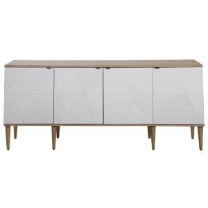 Tightrope - 72 Inch 4 Door Modern Sideboard Cabinet