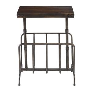 Sonora - 22.5 inch Industrial Magazine Side Table