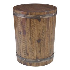 Ceylon - 24 inch Wine Barrel Accent Table