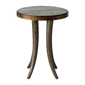 Ezra - 26.5 inch Round Accent Table