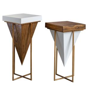 Kanos - 23.75 inch Accent Table (Set of 2)