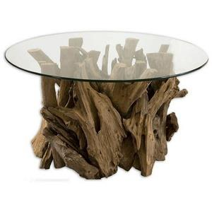 "Driftwood - 36"" Top Cocktail Table"
