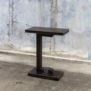 Deacon - 28 inch Industrial Accent Table