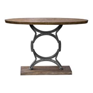 "Wynn - 48"" Industrial Console Table"