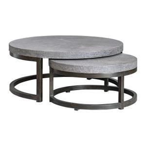Aiyara - 42.5 inch Nesting Tables (Set of 2)