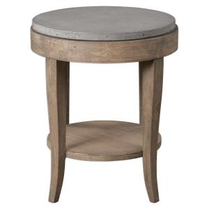 Deka - 28.5 inch Round Accent Table