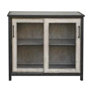 Dylan - 36 inch Wire-Mesh Accent Cabinet