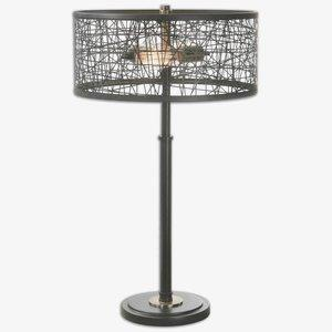 Alita - 2 Light Table Lamp - 16 inches wide by 16 inches deep