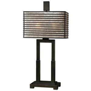 Becton - 2 Light Modern Metal Table Lamp