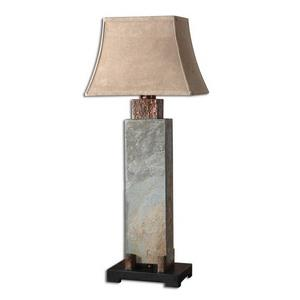 Slate - 1 Light Tall Table Lamp