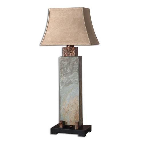 Uttermost 26308 Slate - 1 Light Tall Table Lamp