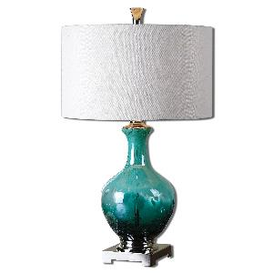 Yvonne - 1 Light Table Lamp - 17 inches wide by 17 inches deep