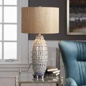 Lokni - 1 Light Table Lamp - 16 inches wide by 16 inches deep