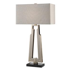 Alvar - One Light Mid Century Modern Table Lamp