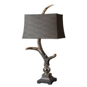 Stag Horn - One Light Table Lamp - 19 inches wide by 12 inches deep