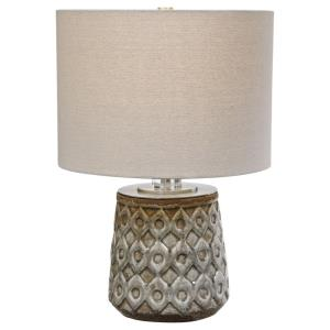 Cetona - 1 Light Table Lamp - 14 inches wide by 14 inches deep
