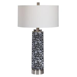 Kramer - 1 Light Table Lamp - 17 inches wide by 17 inches deep
